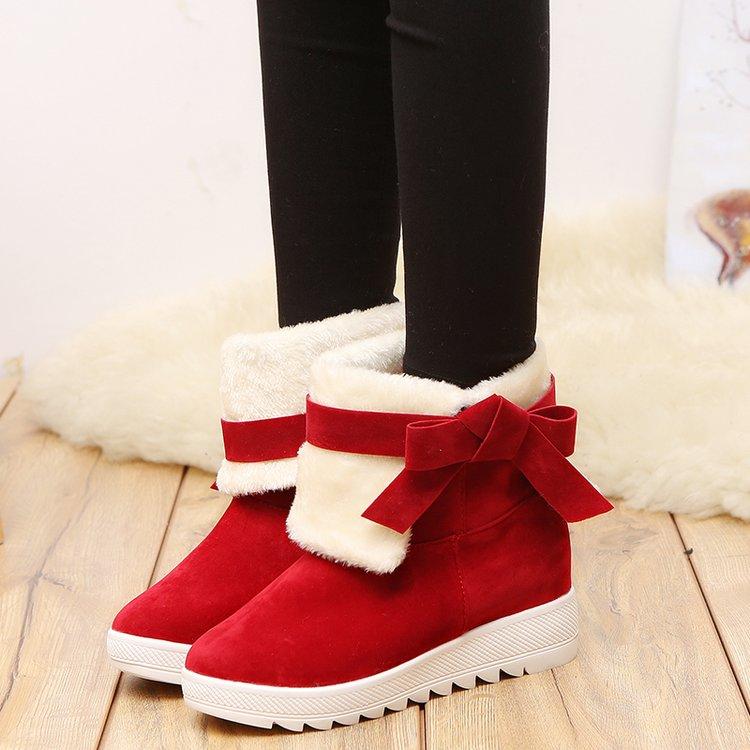 学生厚底冬靴