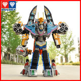 Sunfighter King Toy Giant God Fighter Team 2 Starfighter King Metamorphic Robot Star Warfare King