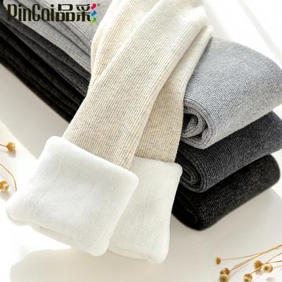连裤袜女春秋薄款中厚冬季黑灰色加绒加厚连脚大码外穿打底裤袜子