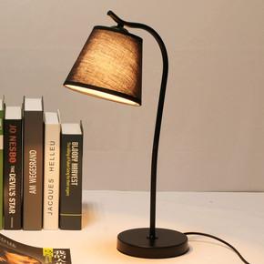北欧led台灯 学生护眼简约现代宿舍书桌学习阅读灯卧室床头宜家