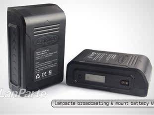 兰帕特VB-150电池 索尼V口电池  广播级摄像机 V型电池 液晶屏