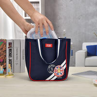Than rabbit portable lunch bag lunch box bag lunch box with rice bag handbag lunch box bag aluminum foil thickening insulation bag