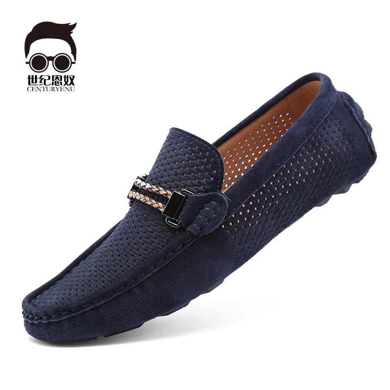 韩版潮鞋豆豆鞋磨砂
