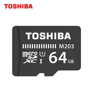 东芝tf卡64g内存卡储存sd卡c10高速64g 手机内存卡监控无线摄像头行车记录仪内存专用卡 micro sd存储卡