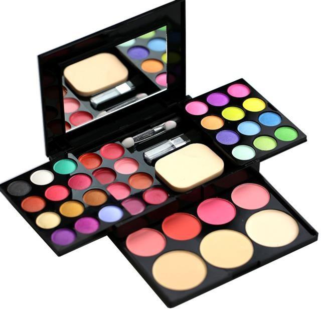 眼影化妆粉盒幼儿园彩妆化妆品套装家用淡妆女孩子六一儿童节生日