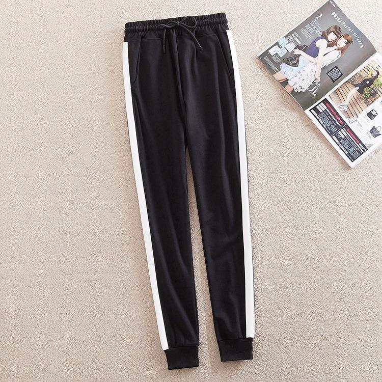 缝针小脚裤