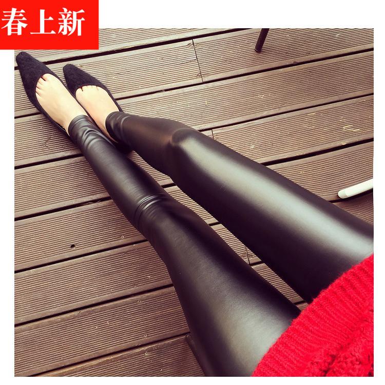 黑色低腰加绒裤