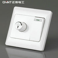 Chint switch socket NEW7 series One open dual control switch With dimming function Dimmable LED light