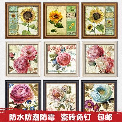 欧式现代装饰画向日葵