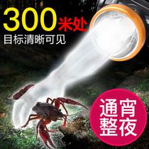 头灯矿灯充电手电筒强光远射户外钓鱼头戴家用迷你超小LED康量