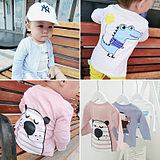 Baby sun block clothing male baby air conditioning clothing female pure cotton thin model 0-1 years old 3 children summer children cardigan coat spring