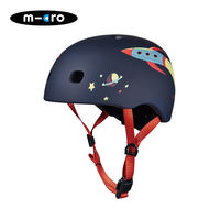 Micro maigu high child helmet travel scooter helmet multi color choice