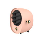 Heater home quiet small mini student dormitory office desktop small power hot air intelligent speed hot heater US black technology micro electric heater gas energy saving electric heating machine