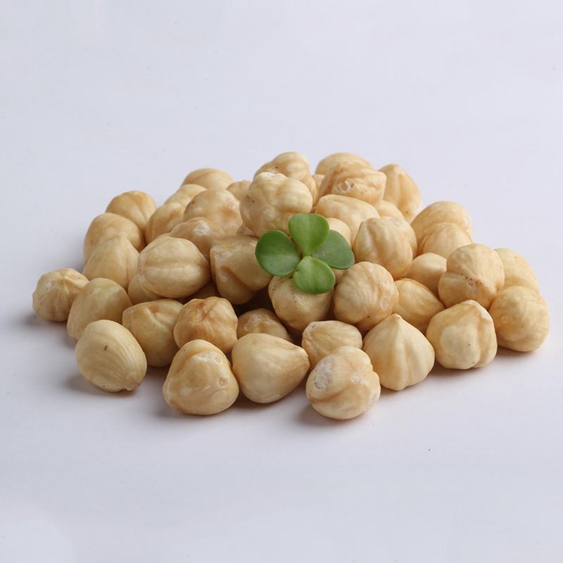 鲜记 原味榛子仁新鲜果仁熟500g小包装零食休闲坚果孕妇零食