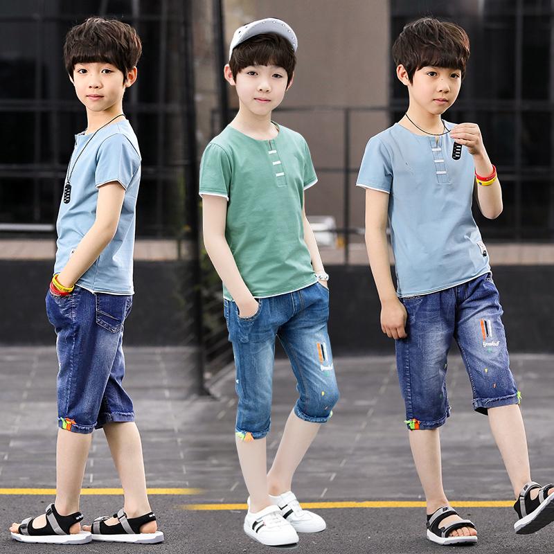 儿童夏装男孩10岁