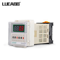 DH48S-S small digital display time relay 220V/24V/12V cycle control delay adjustable relay