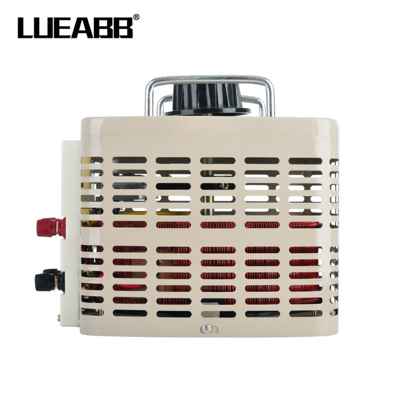 LUEABB调压器5000W220V单相交流5KW全铜自耦0-250V可调变压器