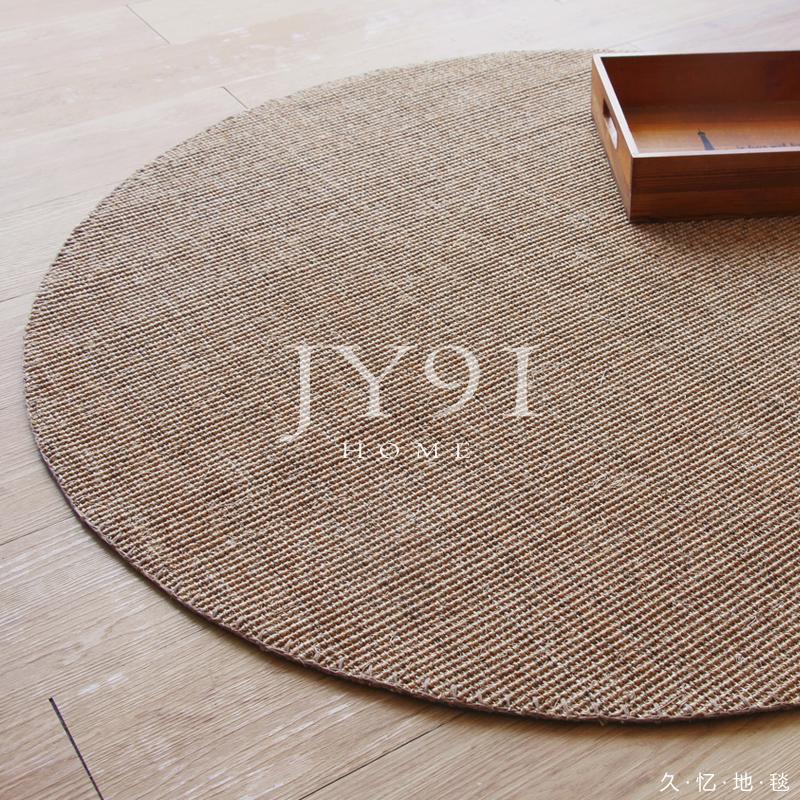 圆形餐桌地垫