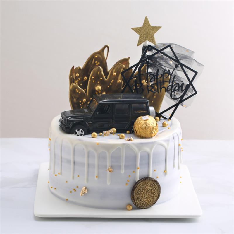 跑车 蛋糕 汽车