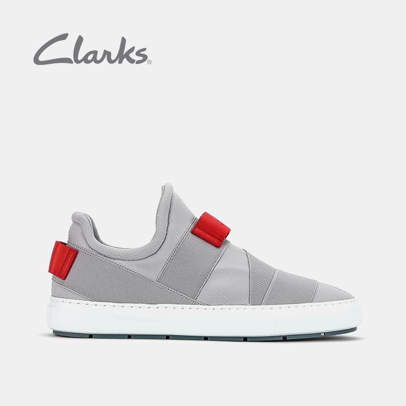clarks其乐休闲板鞋男设计师联名款舒适时尚Laika Step潮流运动鞋