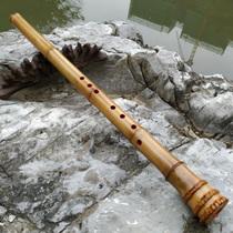 玉屏湘妃竹洞箫香妃斑竹箫乐器包邮短萧六八孔专业演奏箫张海船制