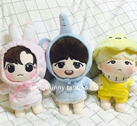 Korea bts exo love beans 20 cm doll clothes 20cm baby clothes doll clothes suits spot