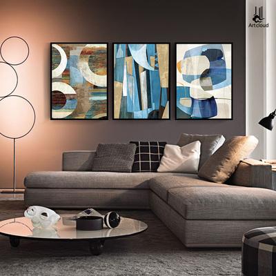 抽象画 现代简约毕加索客厅装饰画三联沙发背景墙壁画艺术挂画