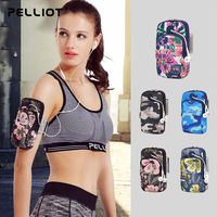 Pelliot and outdoor running arm bag men and women sports fitness arm bag wrist bag arm with Apple mobile phone bag arm