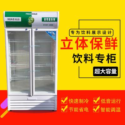 超市立式冰箱