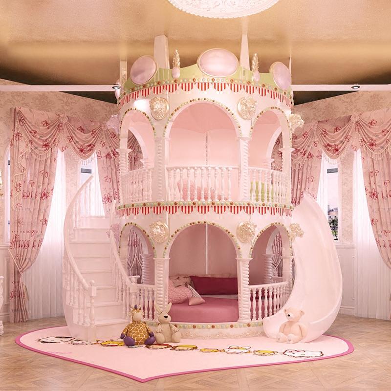定制 实木子母床上下床高低床双层床儿童床榉木上下铺成人多功能