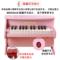 贝格安儿童小钢琴木质初学者迷你电子琴男女孩宝宝婴幼玩具可弹奏