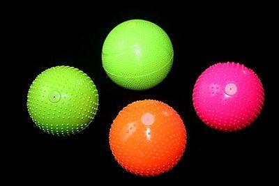 尚柔美丽中国比赛指定太极柔力球拍用球硅胶球