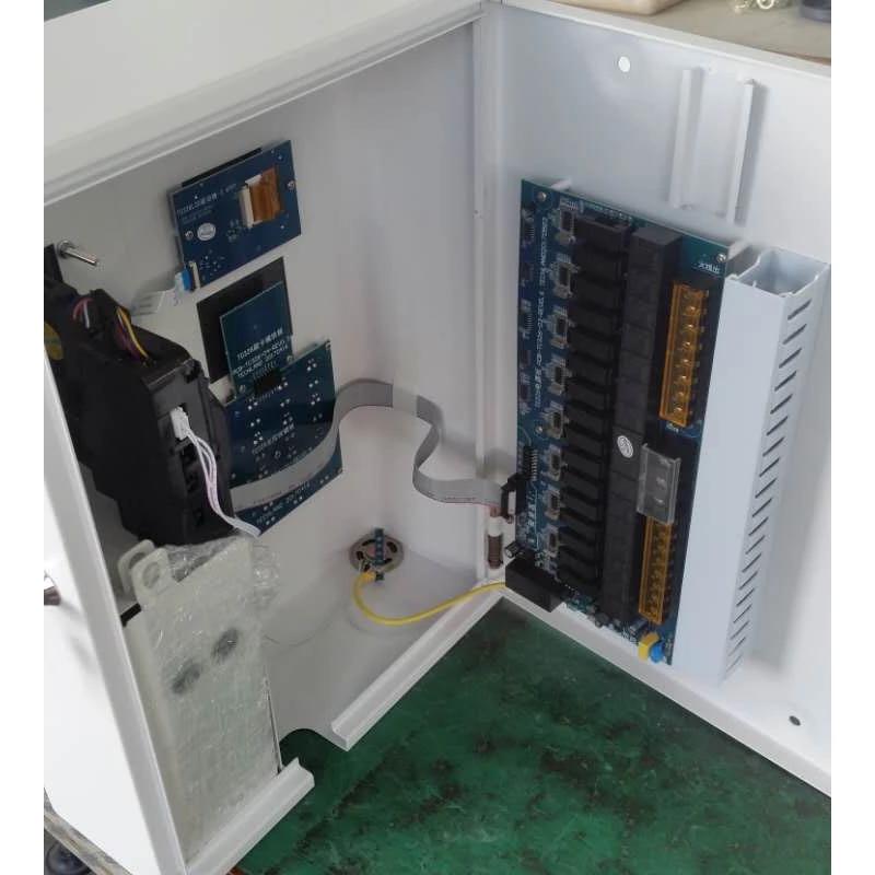 德力西电瓶车充电桩16路投币刷卡多功能电动车小区便民智能充电站