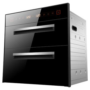 好太太家用消毒柜嵌入式碗柜厨房不锈钢负离子中温高温紫外线臭氧
