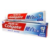 高露洁牙膏健白防蛀牙膏90g/140g 清爽薄荷牙膏 多省包邮