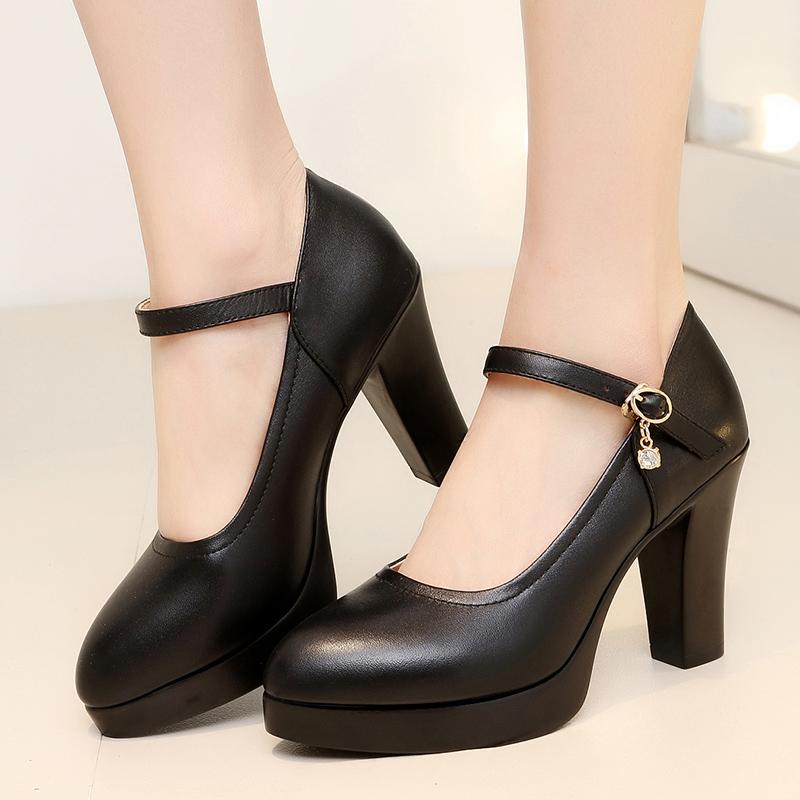 单鞋黑色大码