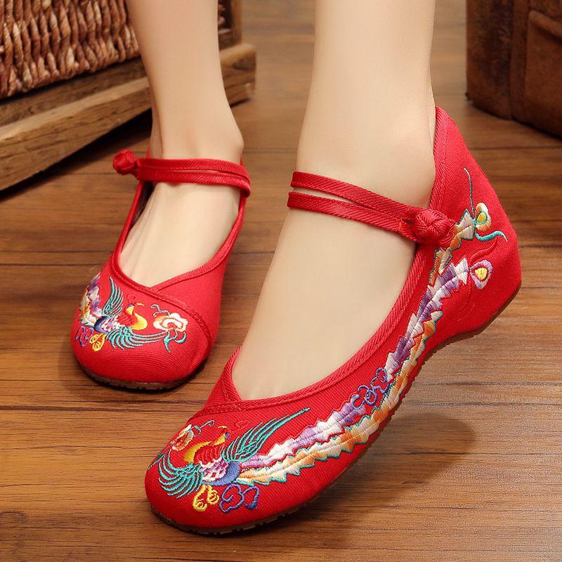 族韻老北京布鞋女