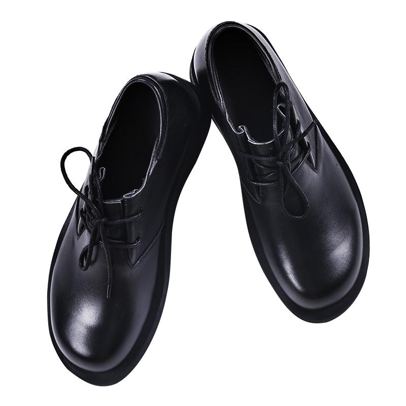 男小码工装皮鞋小码