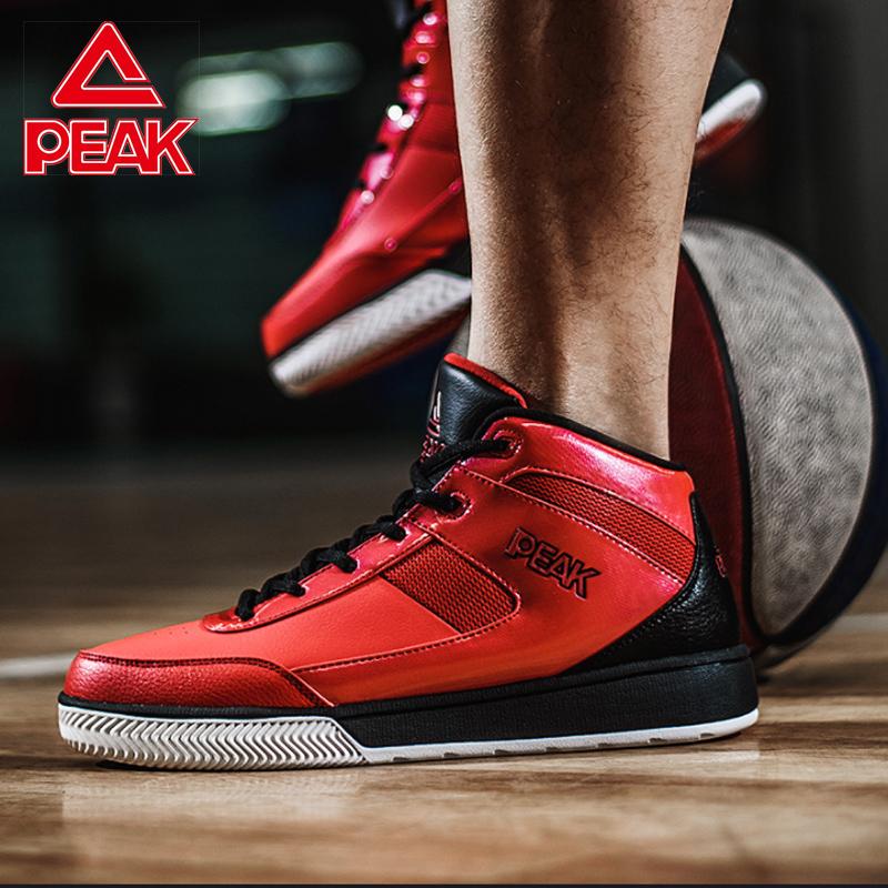 匹克男鞋夏季新款耐磨防滑高帮战靴黑武士外场运动鞋男实战篮球鞋