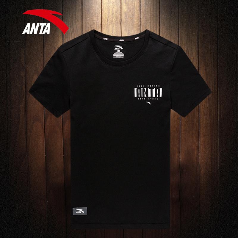 安踏短袖T恤男2019新款夏季男士速干t体恤青少年圆领透气运动半袖