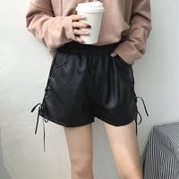 皮短裤女秋装新