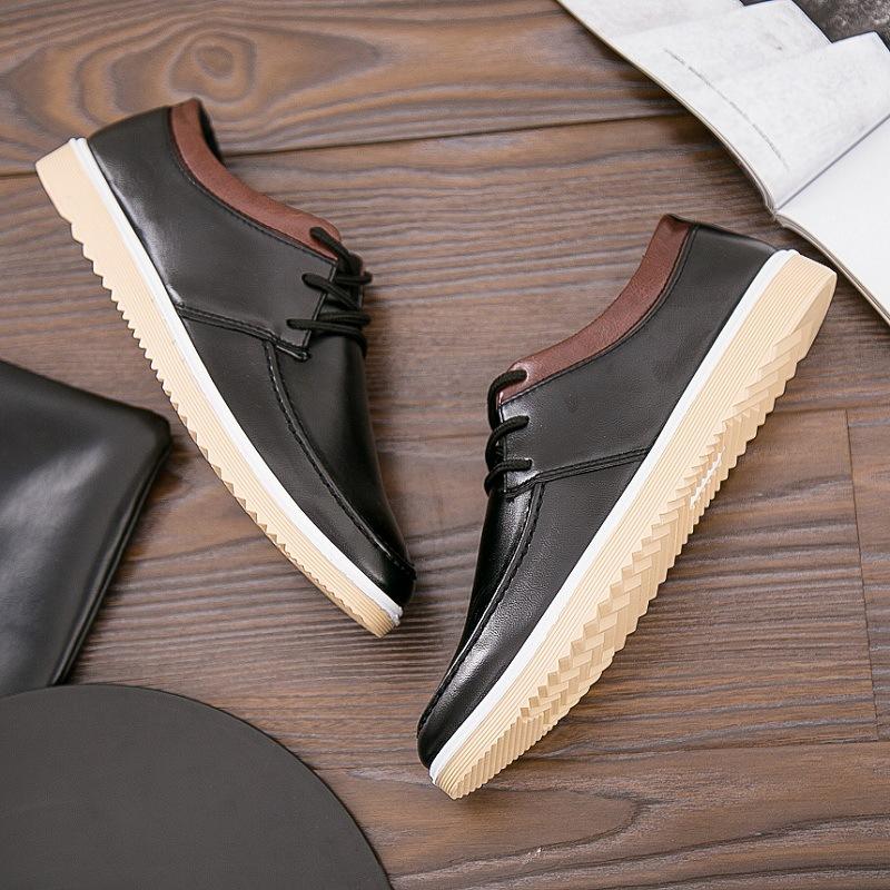 平底低帮皮鞋