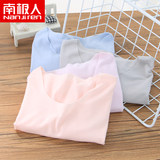 Antarctic children's summer thin short-sleeved home service boys and girls modal seamless T-shirt tops parent-child pajamas