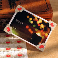 Manual diy photo album accessories tool paste album fixed photo creative wall photo corner stickers 24