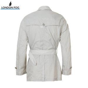 LONDON FOG/伦敦雾男士商务休闲纯色风衣LS13WF040