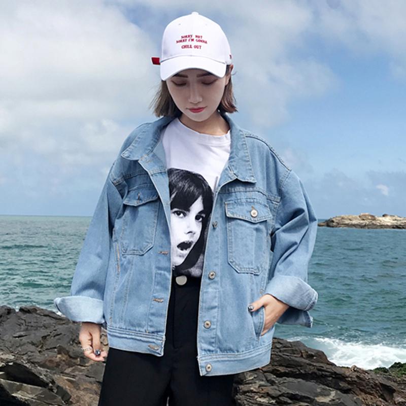 韓版牛仔外套春裝