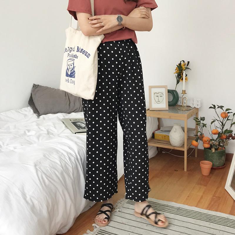 韩版时尚筒裤