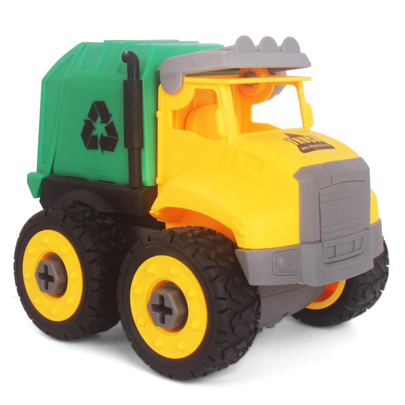 儿童工程车玩具可拆卸螺丝拆装组拼装汽车益智力小男孩3-4-5-6岁