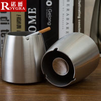 Gift stainless steel ashtray to send boys friends constellation Internet cafes Internet cafes windproof ashtray bar KTV ashtray