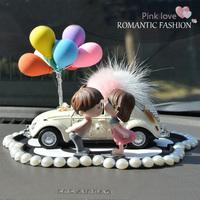 汽车摆件车内饰品摆件女漂亮内饰萌萌可爱个性创意中控台汽车装饰